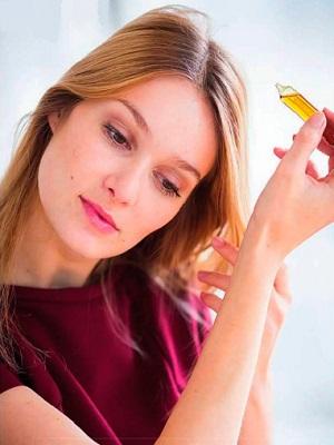 ампульная косметика для ухода за волосами