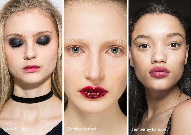 тенденции макияжа губ