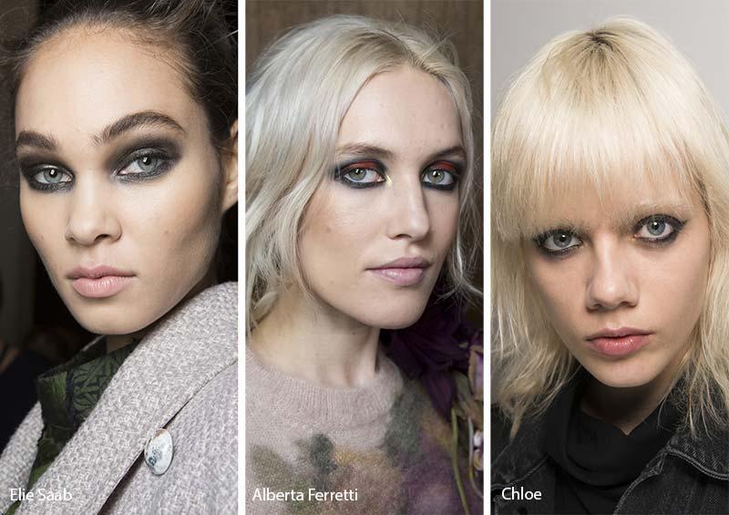 макияж глаз модные тенденции