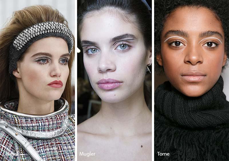 тенденции в макияже 2018