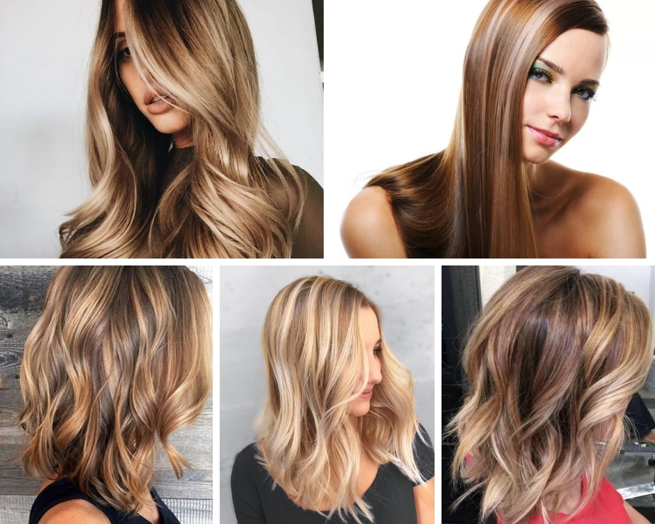 колорирование волос на русые волосы фото