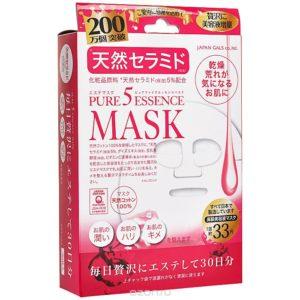 "Japan Gals Маска для лица ""Pure5 Essential Natural Ceramide"", 30 шт"