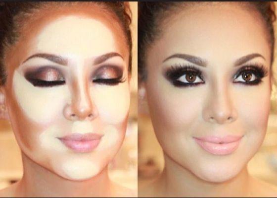 тренды макияжа 2017