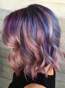 креативное окрашивание волос