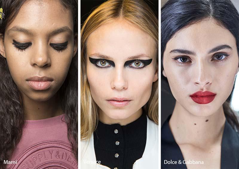 тенденции макияжа осень зима 2017 2018