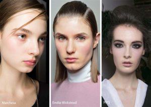 тенденции макияжа зима 2018